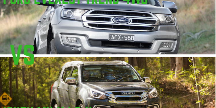 Ford Everest Trend 4WD Vs Isuzu MU-X LS-U