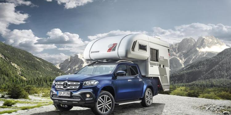 Mercedes-Benz X-Class slide-on camper concept revealed