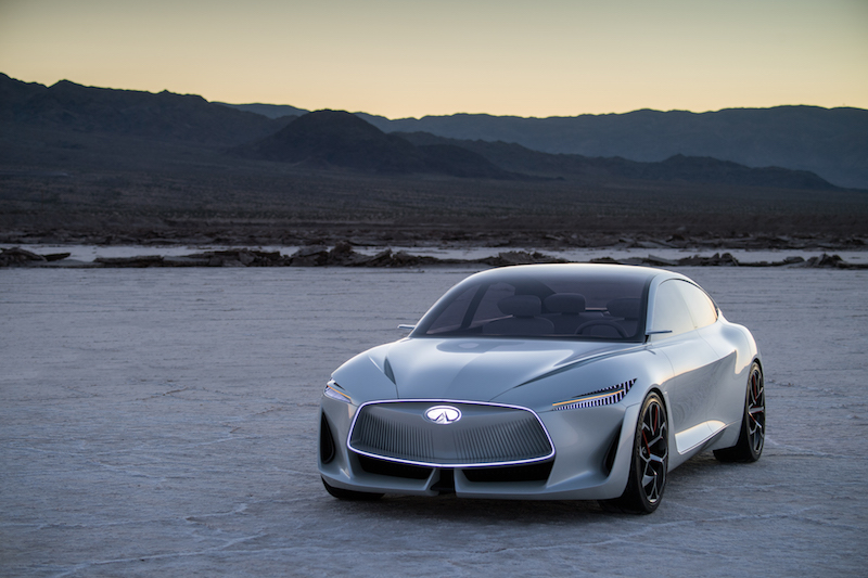infiniti to go electric2021… shows off q inspiration