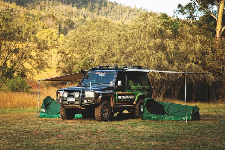 How to fit an awning to a 4x4