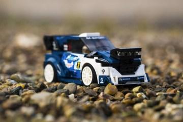 M-Sport Ford Fiesta WRC rally car