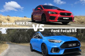 Subaru WRX STi Vs Ford Focus RS