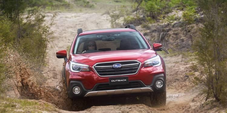 refreshed 2018 Subaru Outback