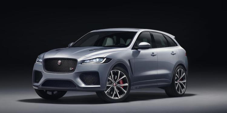 2018 Jaguar F-Pace SVR