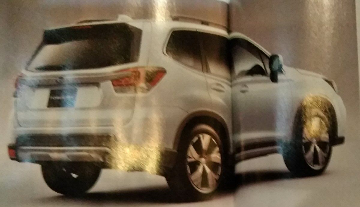 New Subaru Forester teased before NY 2018 show