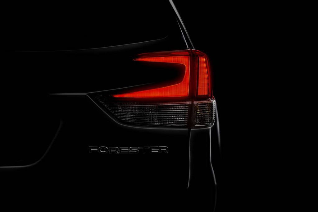 Subaru Forester previewed, locked in for NY show debut