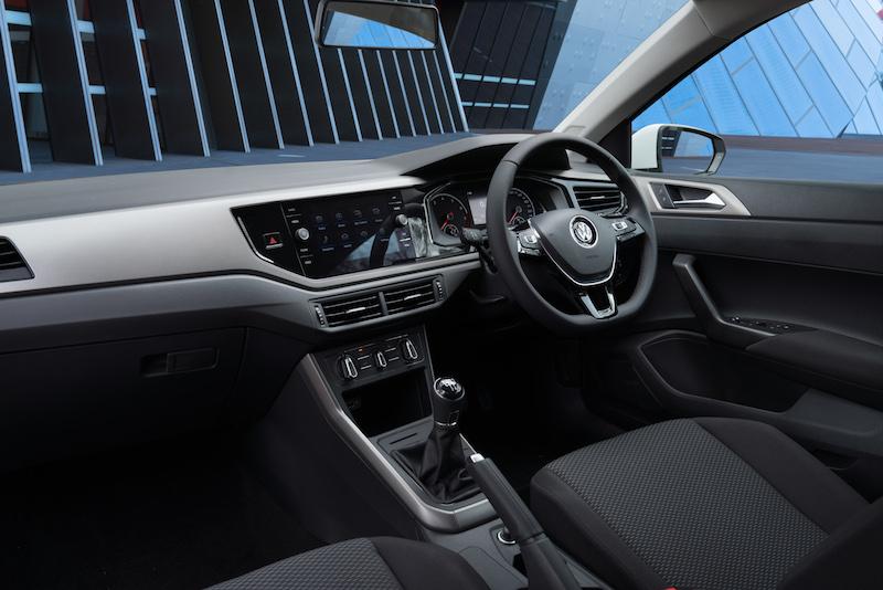 2018 Volkswagen Polo 70TSI Trendline Manual.