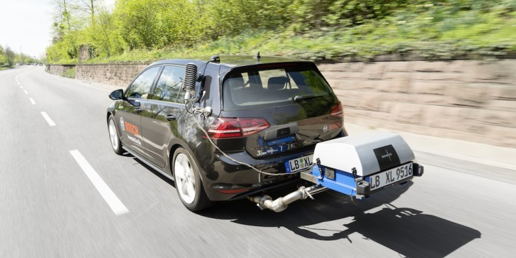 Bosch reveals new diesel technology