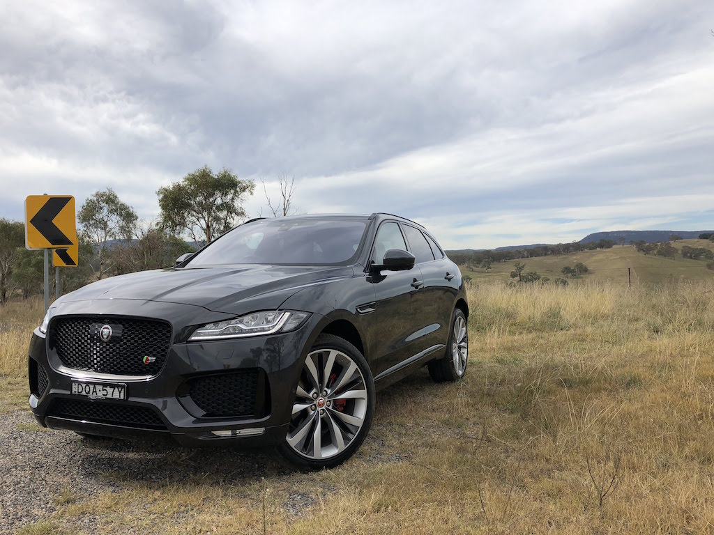 2018 jaguar f pace s review practical motoring. Black Bedroom Furniture Sets. Home Design Ideas