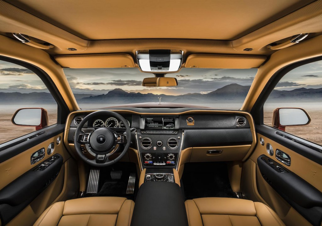 Rolls-Royce Cullinan revealed...world's most exclusive SUV