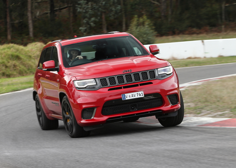 2018 jeep grand cherokee trackhawk review first drive practical motoring. Black Bedroom Furniture Sets. Home Design Ideas