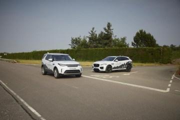 Jaguar Land Rover begin testing connected car technology in the UK