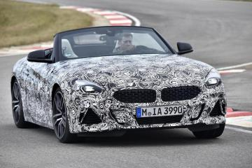 BMW Z4 continues testing