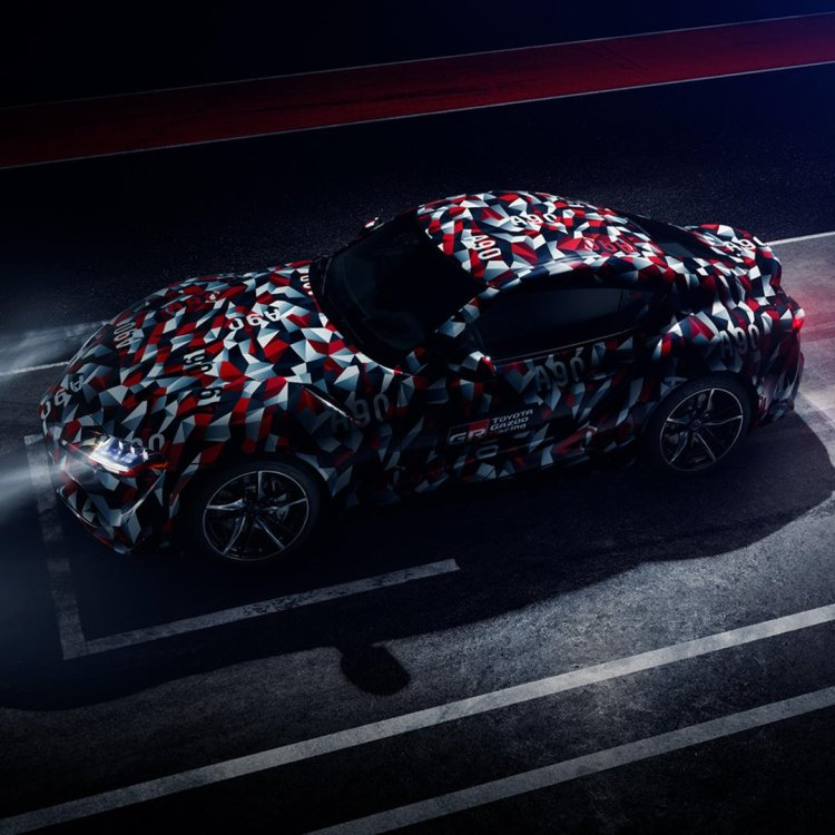 all-new 2019 Toyota Supra