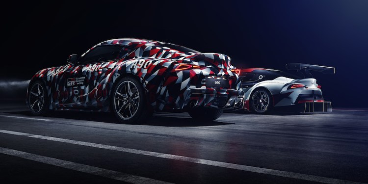 The 2019 Toyota Supra will make its driving debut at the Goodwood Festival of Speed this coming weekend ahead of the camouflage being ripped off the thing.