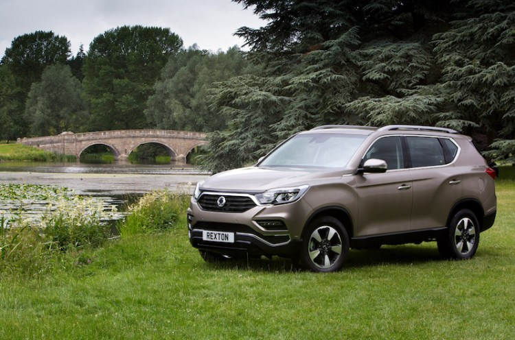 2018 SsangYong Rexton with 2.2-litre turbo diesel matched to 7-speed Mercedes-Benz transmission.