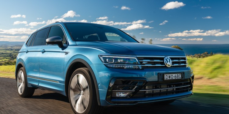 Bigger version of the award-winning Tiguan, with 5+2 seating configuration.