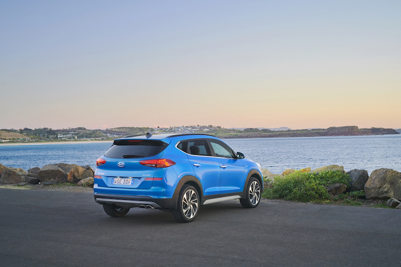 The Tucson was awarded a five-star ANCAP rating in 2016.