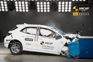 2019 Toyota Corolla awarded 5 star ANCAP rating