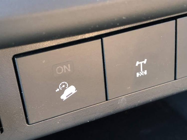 downhill descent control on the Mazda BT-50