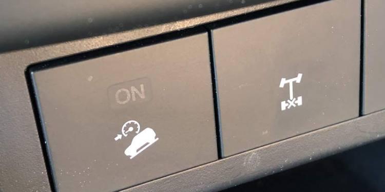 downhill descent control on the Mazda BT-50