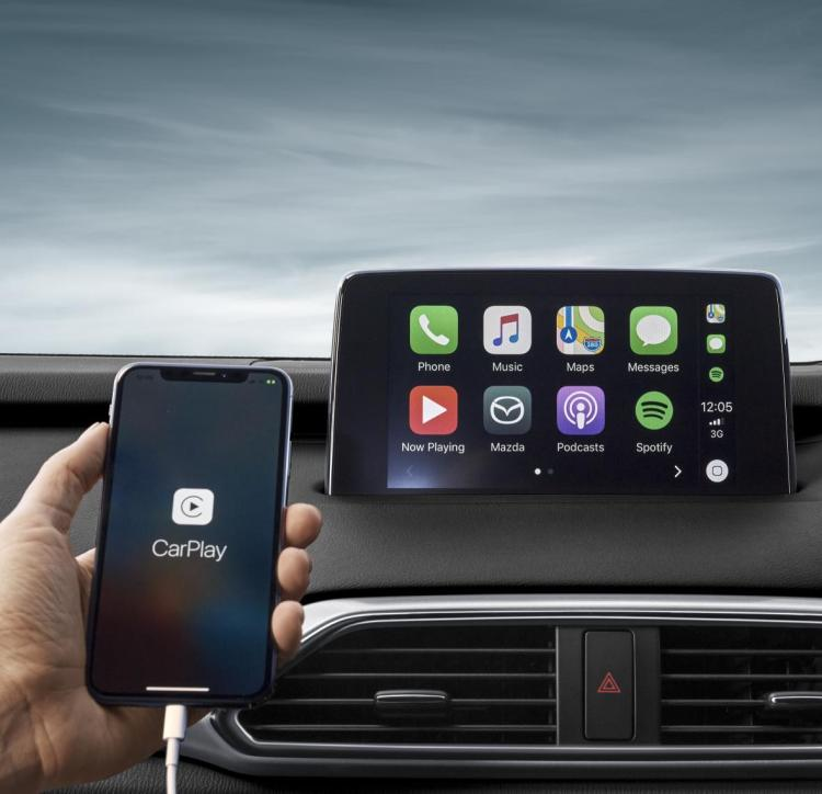 Mazda introduces Apple CarPlay and Android Auto upgrade kit
