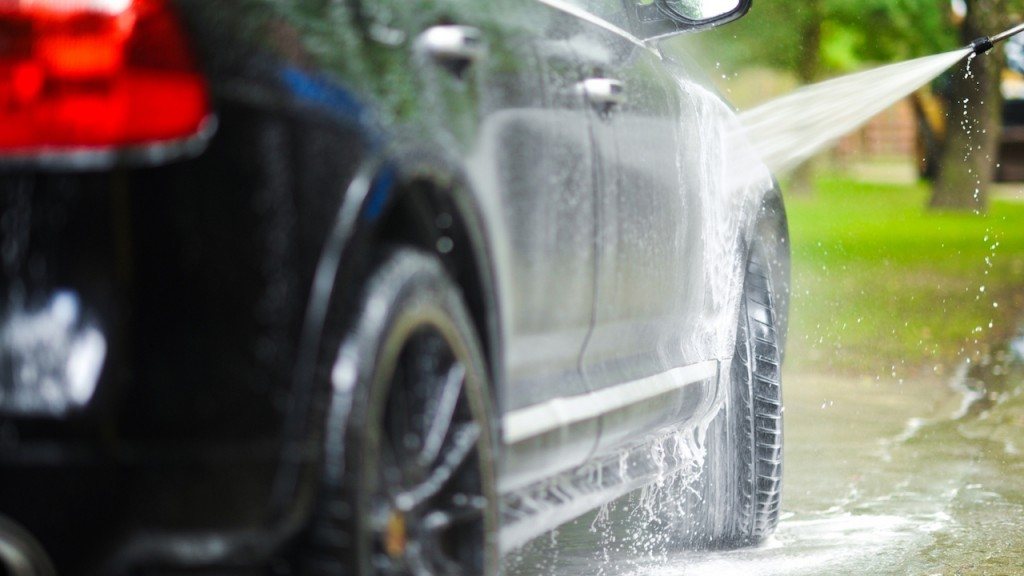 How To Wash A Car With A Pressure Washer Practical Motoring