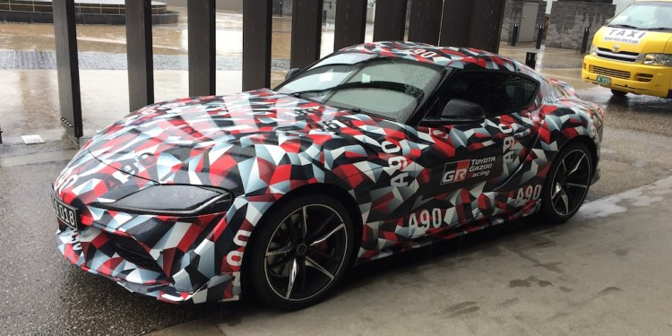 2020 Toyota Supra seen testing in Australia