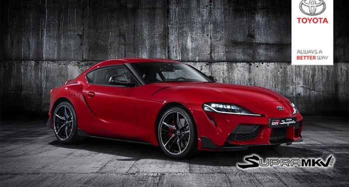 Toyota Supra accidentally revealed
