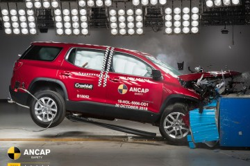 Holden Acadia scores 5 star ANCAP rating