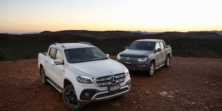 Volkswagen Amarok Ultimate 580 Vs Mercedes-Benz X350d Power