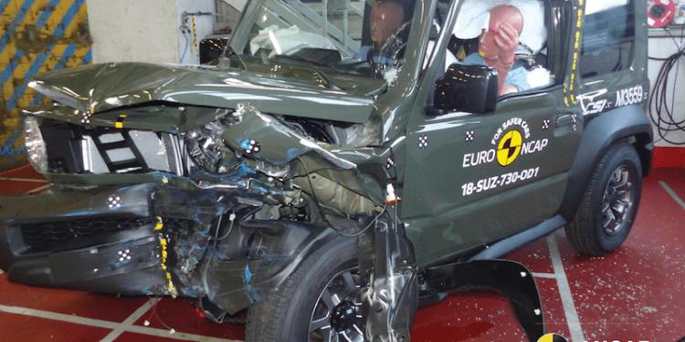 2019 Suzuki Jimny score 3-star ANCAP rating