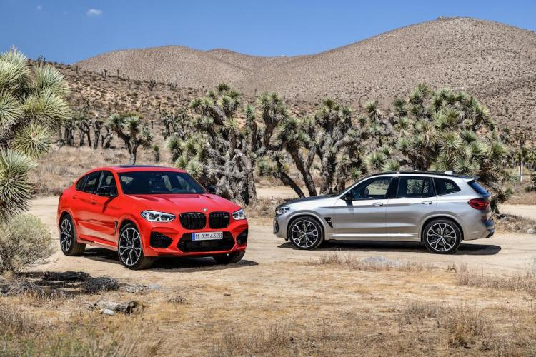 BMW X3 M and X4 M get Competition variants
