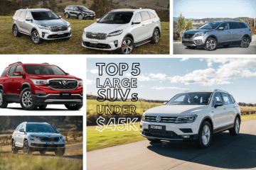 Top 5 Best SUVs under $45k