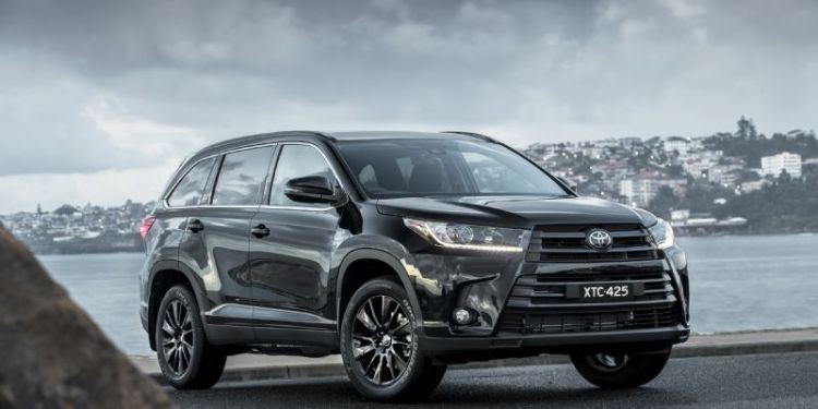 special-edition Toyota Kluger Black Edition