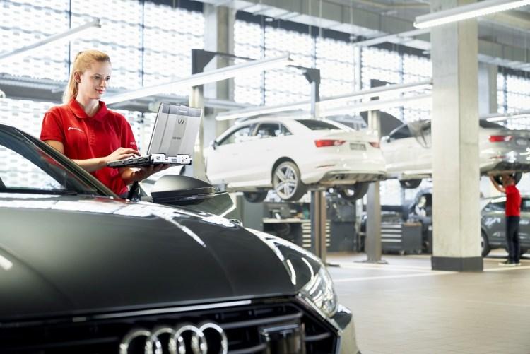 Audi service plan