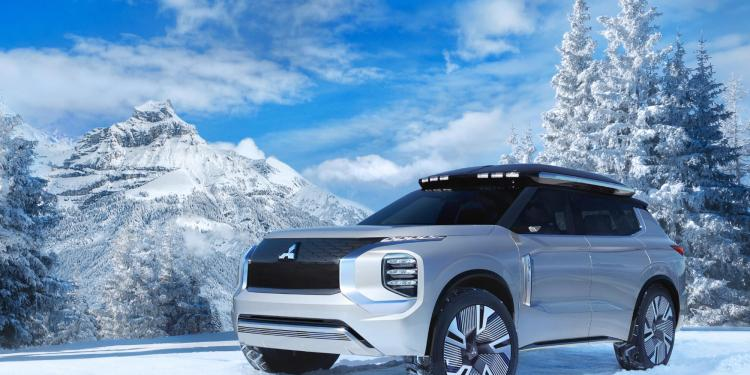 "The Mitsubishi Engelberg Tourer ""has been designed as an elegant and functional all-purpose crossover SUV"" according to Mitsubishi which revealed it in full at the Geneva Motor Show."