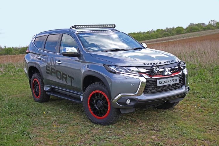 Mitsubishi Pajero Sport SVP concept