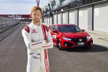 Jensen Button sets lap record at Mount Panorama