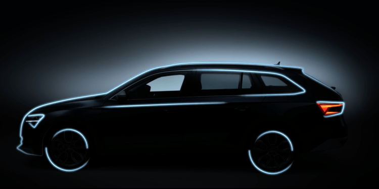 The 2020 Skoda Superb and Scout will be revealed in full this weekend at the Ice Hockey World Championship in Slovakia and Skoda has released more teaser images.