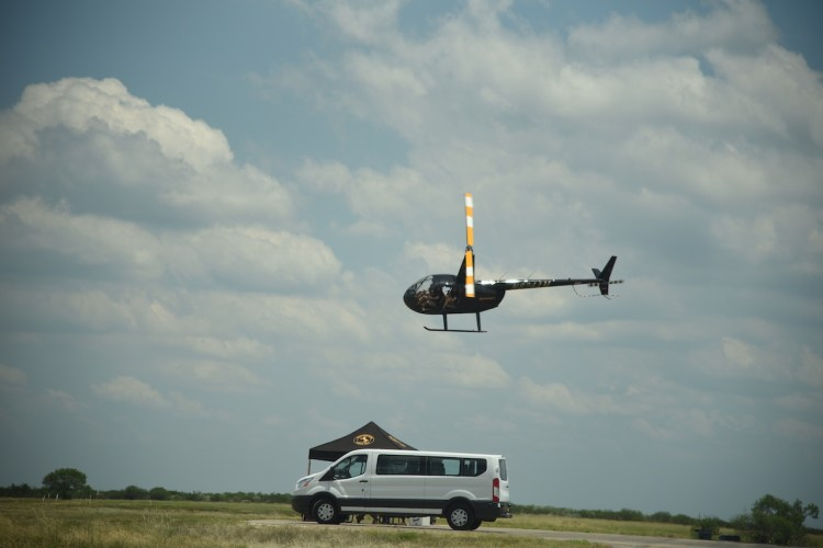 Continental tyre testing at Uvalde