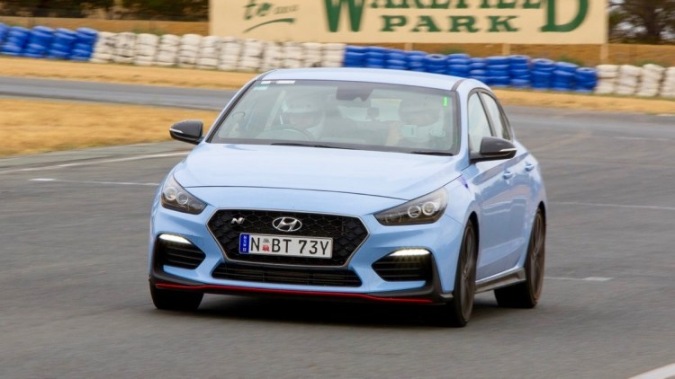 Hyundai i30 N racing track warranty
