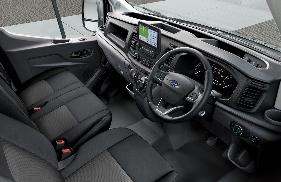 Ford Transit van interior