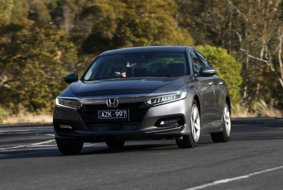 2020 Honda Accord driving