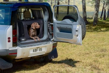 Land Rover Defender 3D dog paw