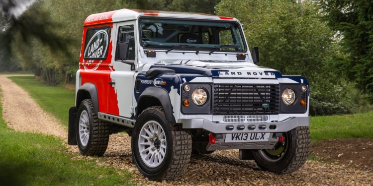 Bowler Land Rover investment