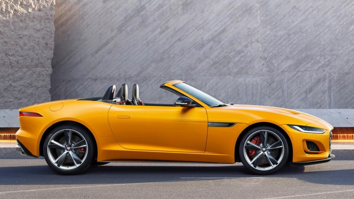 2021 Jaguar F-Type Australia convertible
