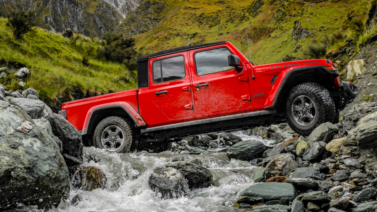 2020 Jeep Gladiator Review Practical Motoring