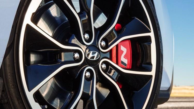 Hyundai i30 N brakes