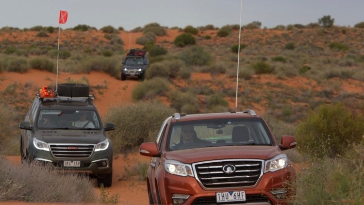 haval H9 great Walla Steed desert simpson australia
